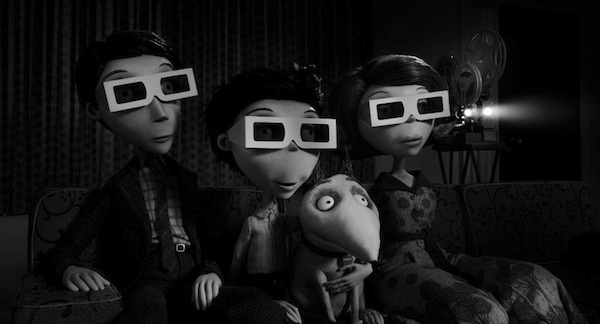 frankenweenie Days of The Week (Films Watched Jan 26 – Feb 1)